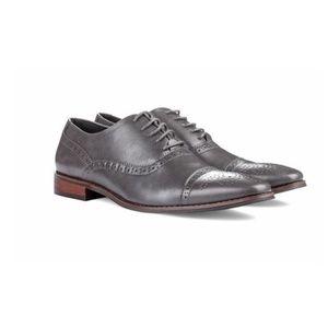 UV Signature Mens Brogue Cap Toe Oxford Dress Shoe
